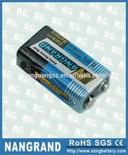 9V 6F22 heavy duty dry battery