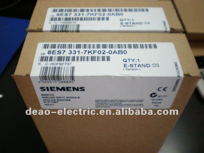 Siemens simatic s7-300, módulo de entrada analógica sm331 6es7331 - 7kf02 - 0ab0