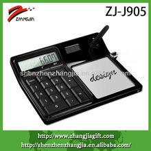 desktop solar calculator with memo