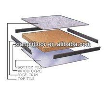 High density heavy load capacity Wood Core Raised Access Floor