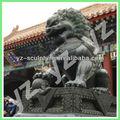Chino de bronce estatua de león clbs- b029