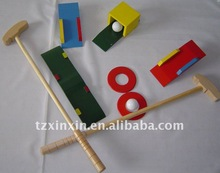 Wooden Garden golf games/ outdoor kids games