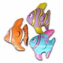 plastic inflatable animal / fish toy
