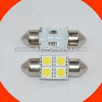 c5w festoon 4smd 31mm 5050 auto car led bulb