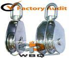 Swivel Double Blocks Stainless Steel Pulley Wheel