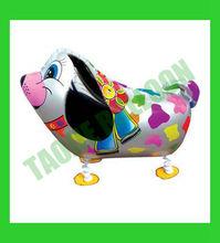 Hot sell helium walking balloons -silver Dog