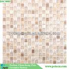 2014 new trend glass mix ceramics mosaic tiles