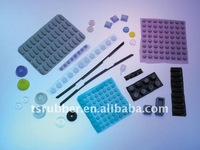 Adhesive Silicone Rubber Mount Foot Pad