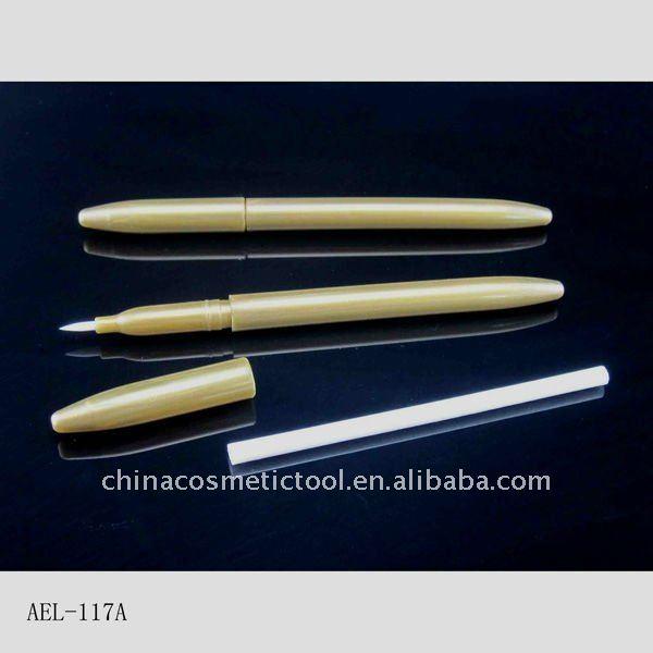 Plastic airtight cosmetic mac eyeliner pencil packaging