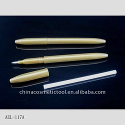 Plastic airtight cosmetic mac eyeliner pencil packaging