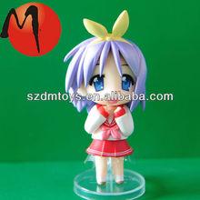Custom plastic pvc mini plastic toy figurines