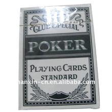 Plástico do cartão de jogo