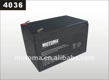 12V12AH Rechargeable Storage Battery