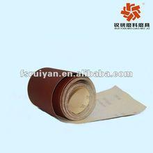 Aluminum oxide abrasive paper roll/sheet