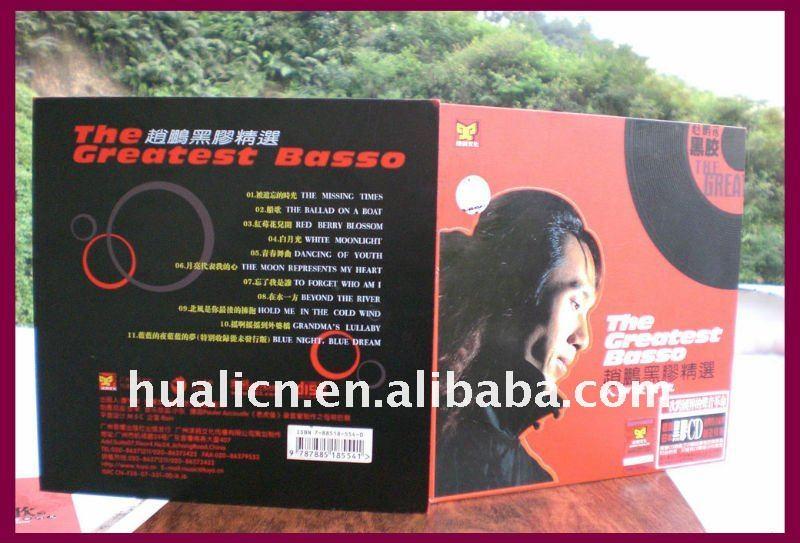 Moda MDF de madeira CD / DVD caixa de armazenamento