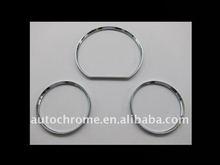 Chrome Dash Board Gauge Ring Set for MercedesBenz W124