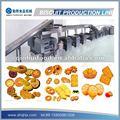Completamente automático galletas proceso de producción
