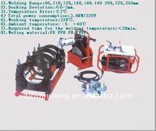 HTX250-D Hydraulic HDPE Hot plate butt welding machine/Butt fusion welding equipment DN90-250MM