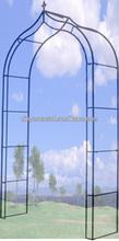 Metal garden arch Wrought iron pergola Metal framed pergola Patio pergola GA090003