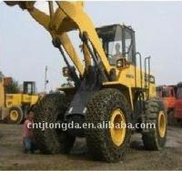 Komatsu parts Tire protection chain for ZL30 ZL40 ZL50 ZL60 ZL80 ZL100