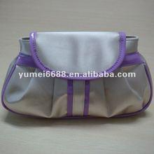 2012 fashion cute cosmetic bag microfiber