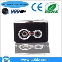 USB cassette audio converter to MP3 & CD,monoplayer,walkman