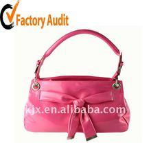 shiny PVC or mirror PVC leather ladies handbag