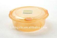 high transparent plastic food container