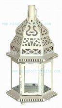 Moroccan lantern ornate metal lantern