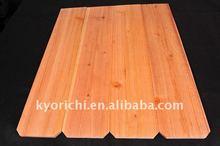 Chinese cedar fence cheap lumber