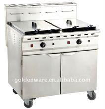 48L Standing LPG Gas Deep Fryer
