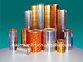 impreso de la ampolla de aluminio lacado de aluminio para uso farmacéutico con hsl y recubrimiento op