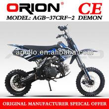 China Apollo ORION 140cc pit bike Mini Cross dirt bike DieselAGB-37CRF2 14/12 140cc )