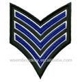 Bordado emblema militar, bordado militar patch