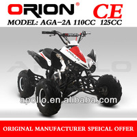 China Apollo ORION CE Mini Quad 125cc Child ATV AGA-2A (NEW Frame NEW QUAD)