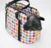 Fashion cotton pet bag,dog carrier