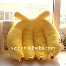 Fruits banana plush cushions