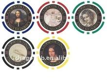 plastic custom poker chips