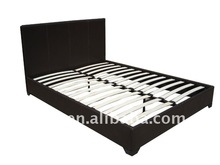 PU leather bed