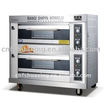 gas baking double deck bread oven( hot sell )