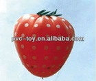 vivid inflatable advertising fruit strawberry