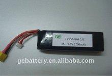 2200mAh 9.6V RC battery