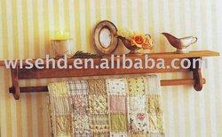 W-SS-9003 wooden quilt display racks