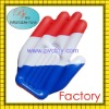 Cheap promotion&advertising cheering pvc inflatable hand toy