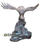 Antique Bronze or Brass Eagle Statue