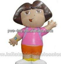 PVC little girl inflatable cartoon
