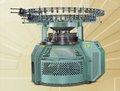 Alta produção de grande porte multa rib máquina de tricô circular