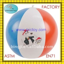 "new style 18"" beach ball for pizza hut for wholesale"