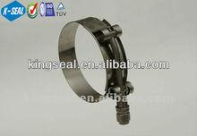 Aço inoxidável t - parafuso da mangueira de combustível ktbg412ss clipes