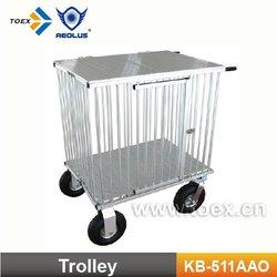 Aluminum Dog Kennel Cage Cart KB-511/513